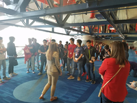 Dawson Students tour the GRB