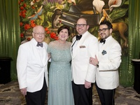 Houston Symphony Chairs: Miles Smith, Robin Angly, Darrin Davis and Mario Gudmundsson