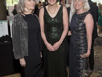 Dressed to impress: Ginger Clark, Barbara Burger and Janet Clark